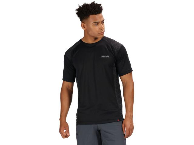 Regatta Hyper-Reflective II T-Shirt Homme, black/black